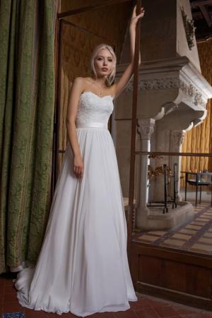 Hochzeitskleid Ann Angelex 1952 vorne