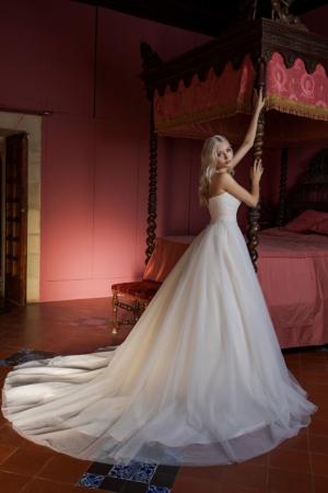 Hochzeitskleid Ann Angelex 1956 hinten seitlich