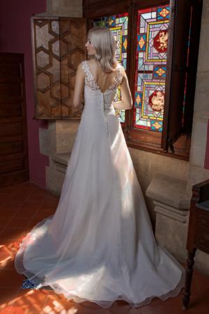 Hochzeitskleid Ann Angelex 1981 hinten