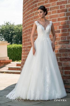 Hochzeitskleid MS Moda Ginevra vorne