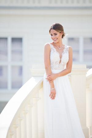Brautkleid Miss Germany Eloise vorne oben